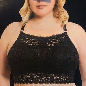 505e6cf7107b2 Delta Burke Intimates   Sleepwear - Delta Burke Intimates Allover Black  Lace Bralette